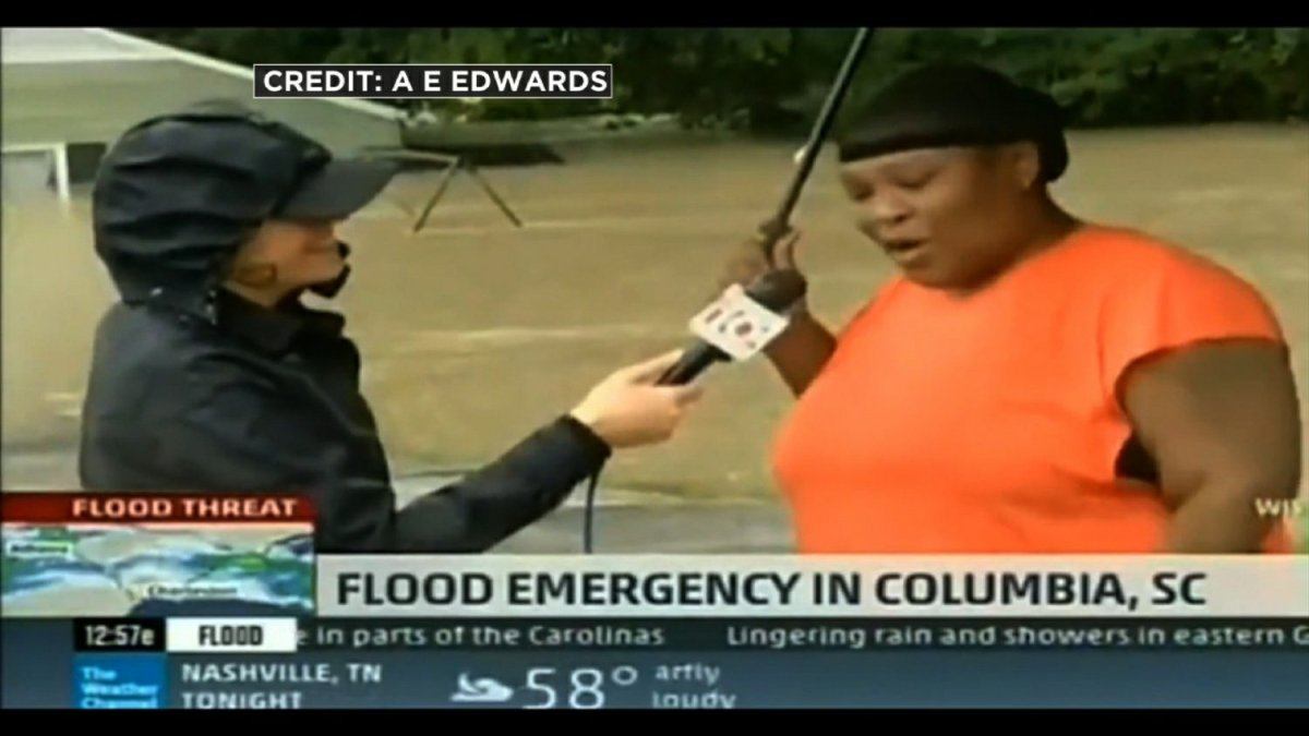 "Watch ""Columbia SC Horrific Flooding, I Saved My Totino's PIZZA during the flood"" on YouTube"