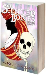 The Scented Bones Front Cover 3D